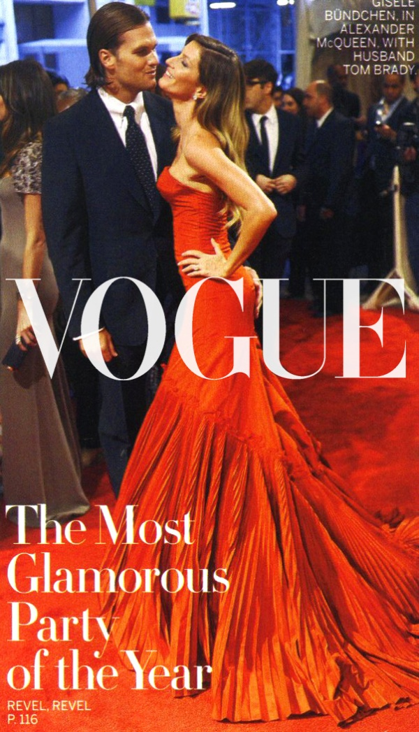 Gisele's Met Look Meets Vogue