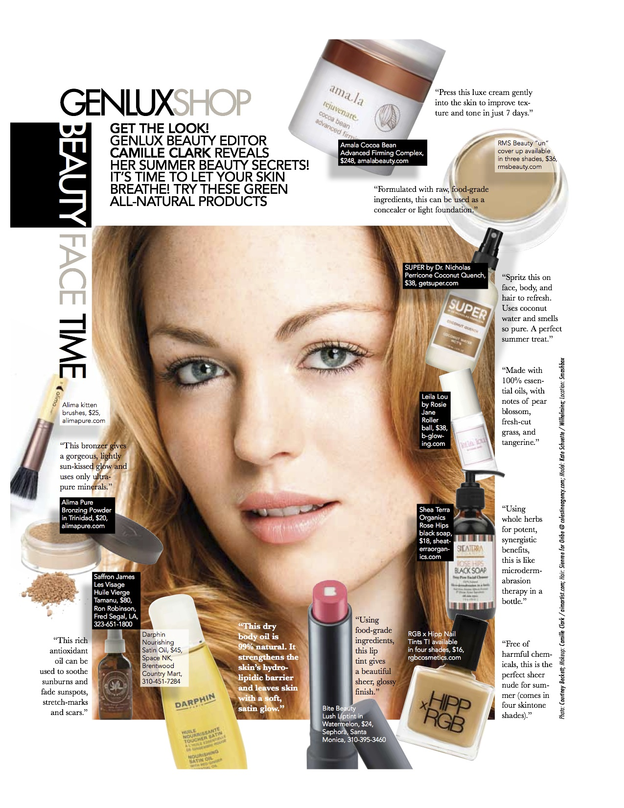 Beauty Must Haves: Genlux Magazine: Summer Beauty Must-Haves