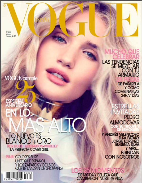 cover vogue marzo 2013