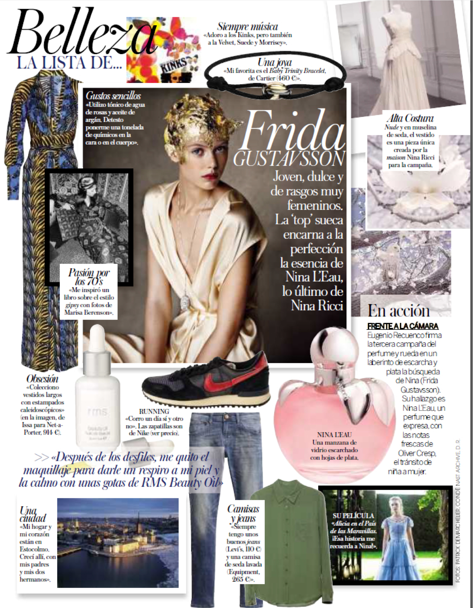 Vogue Spain: Currently Coveting With Frida Gustavsson  rmsbeautyblog