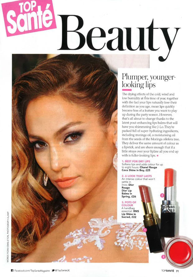 RMS Beauty_Top Sante_January 2015-1